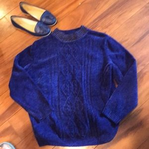 Royal Blue Alfred Dunner sweater